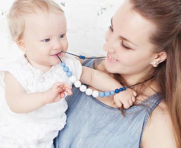 TI AMO MAMA — жевательные бусы для мамы и ребенка
