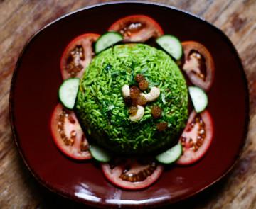 Вегетарианское кафе «Уттупура» в центре Керала
