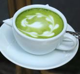 Green tea Latte/Matcha tea art