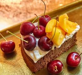 Острый шоколадный пирог