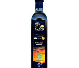 Натуральное оливковое масло KURTES Extra virgin PDO 500 мл