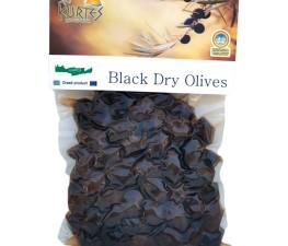 Натуральные черные оливки черные (маслины) KURTES 200 гр