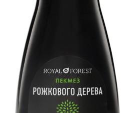 Сироп рожкового дерева (carob syrup) 250 гр