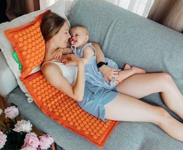 Pranamat ECO — массажный коврик и подушка