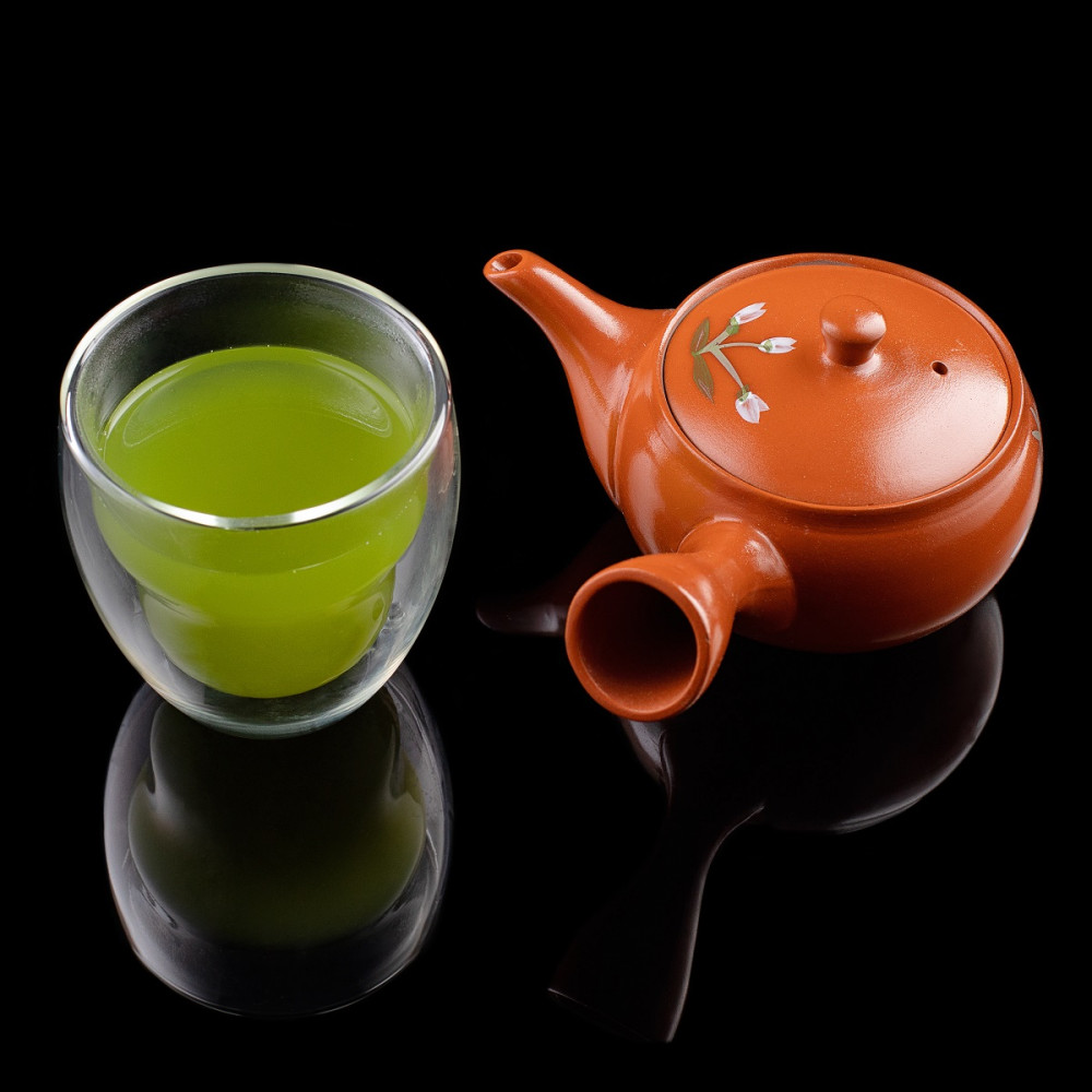виды японского чая