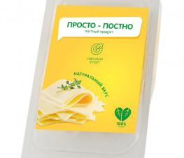 ПРОСТО ПОСТНО растительный сыр классический, нарезка 150 г