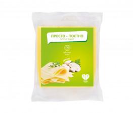 ПРОСТО ПОСТНО растительный сыр со вкусом грибов, кусок 250 г