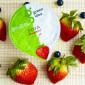 Десерт соевый Green Idea с йогуртовой закваской и соком клубники 140 гр_